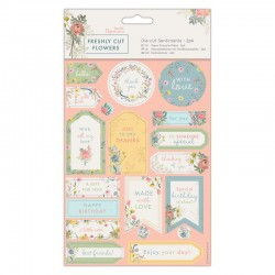 Die-cut Sentiments (2pk) -...