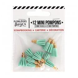 Mini Pompons CÉLADON