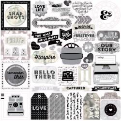 Stickers 30x30 Capture Life...