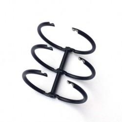 Reliure 3 anneaux D30 Noir...