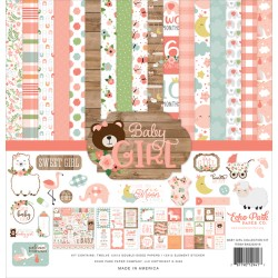 Pack 30*30 Echo Park Baby Girl