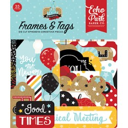 Die cuts Frames & Tags Echo...