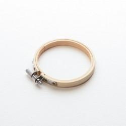 Cercle à broder bambou 10 cm