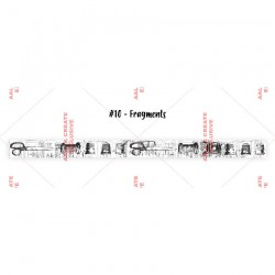 Washi Tape AALL 10 FRAGMENTS